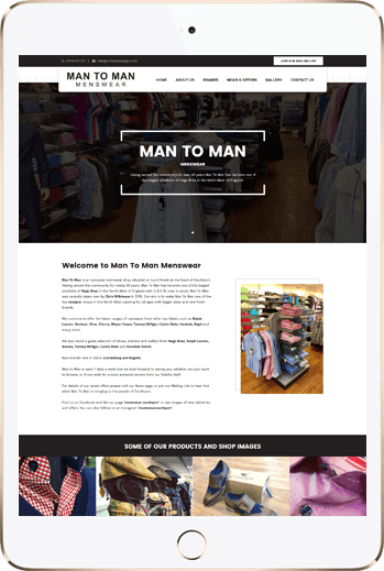 Man to Man Menswear